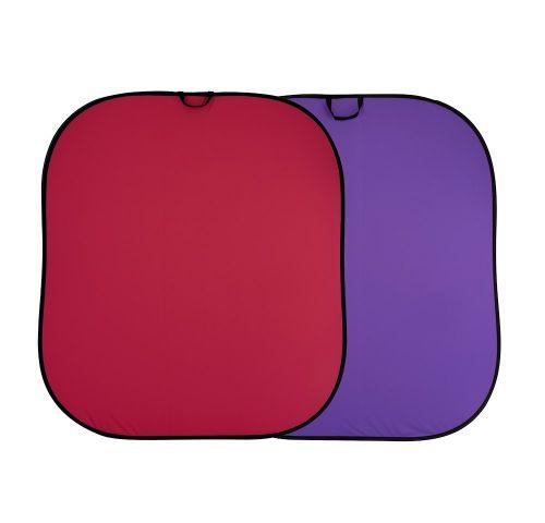 Lastolite Fundal pliabil Red/Purple 1.5x1.8m [0]