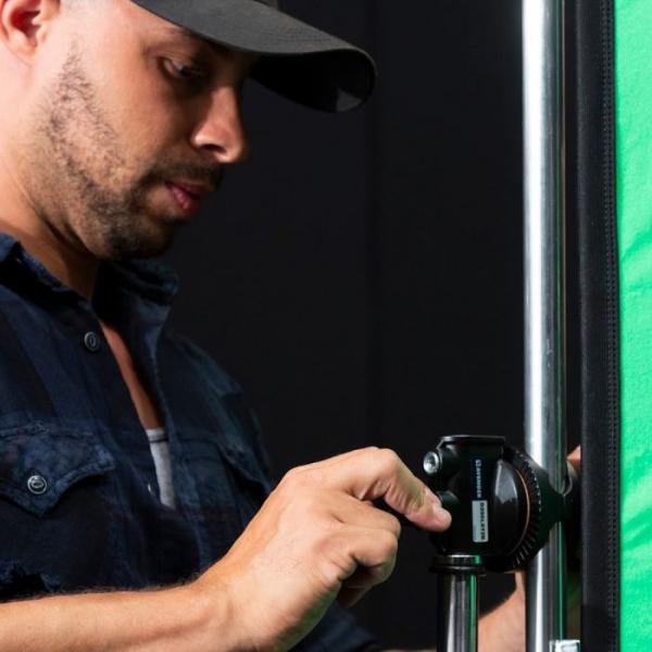 Lastolite StudioLink Kit Chroma Key verde 3x3m [6]