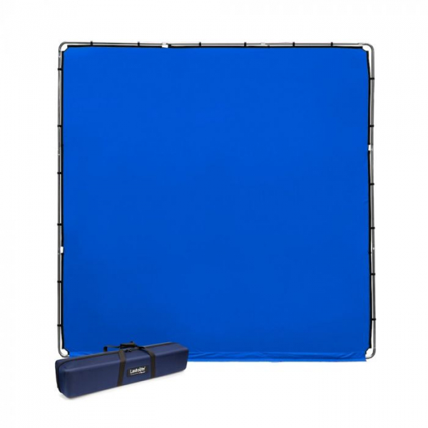 Lastolite StudioLink Kit Chroma Key albastru 3x3m [0]