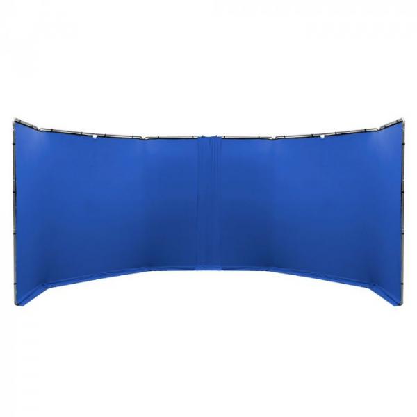 Lastolite StudioLink Kit Chroma Key albastru 3x3m [1]