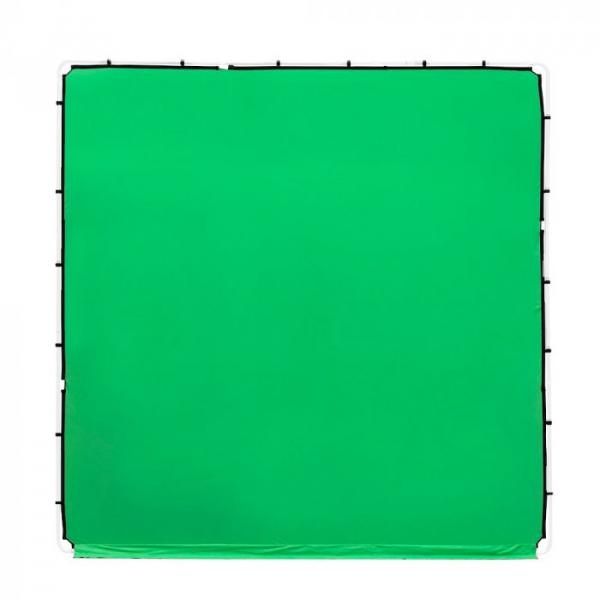 Lastolite StudioLink panza Chroma Key verde 3x3m [0]