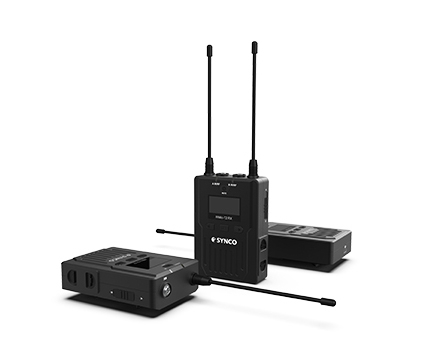 Synco Lavaliera Wireless WMic-T2 cu Transmitter dual 0