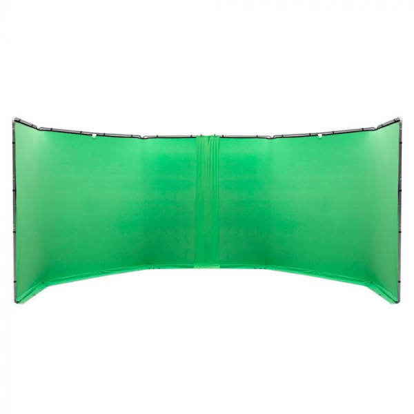 Lastolite StudioLink Kit Chroma Key verde 3x3m [3]