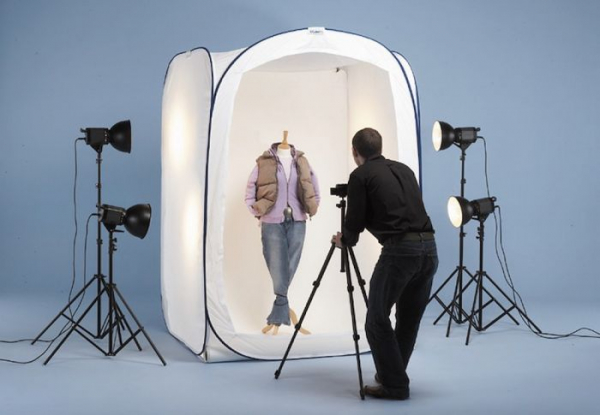 Lastolite cort pentru fotografiere persoane si haine 2m x 2m x 2.13m 0