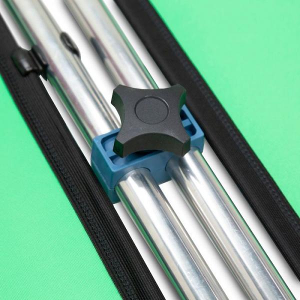 Lastolite Kit de conectare pentru panouri Chroma Key verde 2.3m [6]