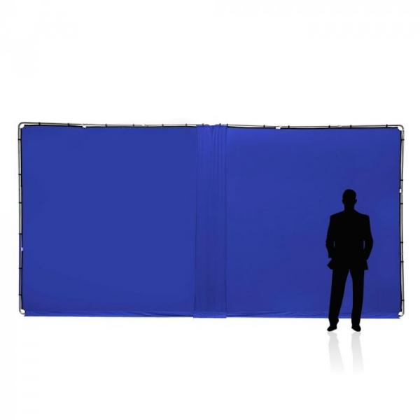 Lastolite Kit de conectare compatibil panouri Chroma albastru 3m 2