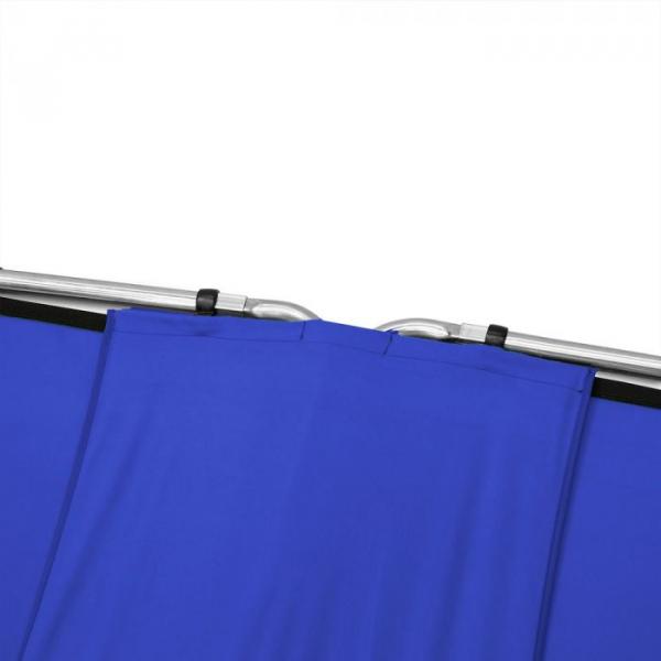 Lastolite Kit de conectare pentru panouri Chroma Key albastru 2.3m [5]