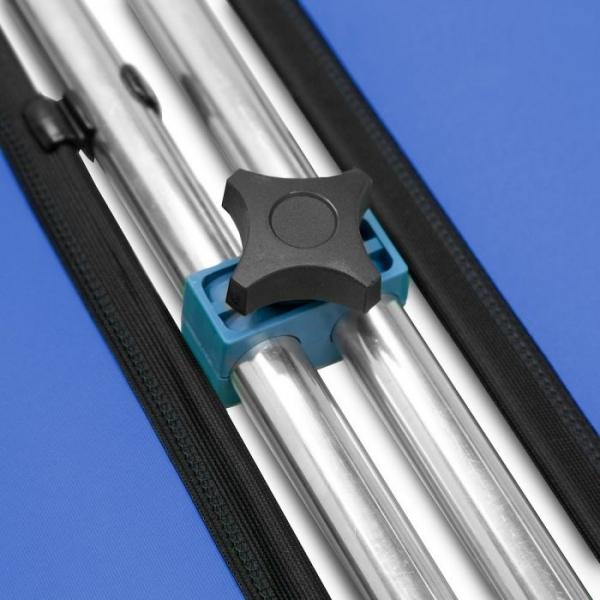 Lastolite Kit de conectare pentru panouri Chroma Key albastru 2.3m [8]