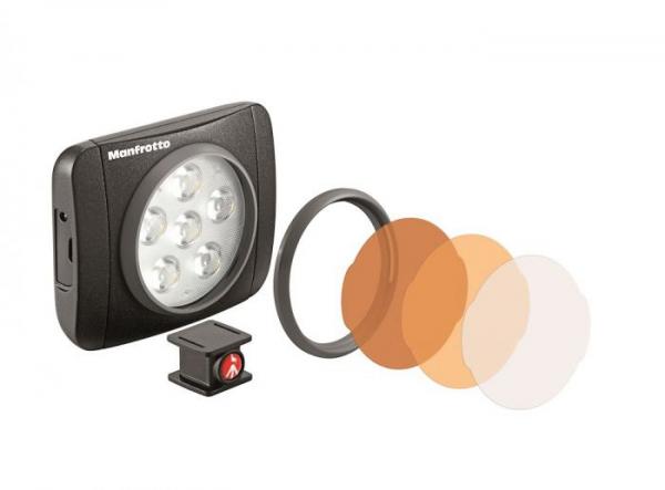 Manfrotto Kit pentru Vlogger cu minitrepied,  microfon si LED 6 3
