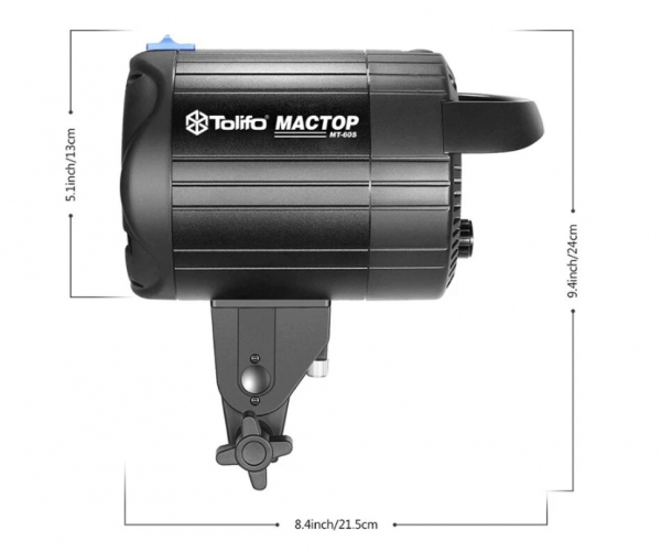 Tolifo MT-60S Kit Lampa Video LED 5600K 60W 4