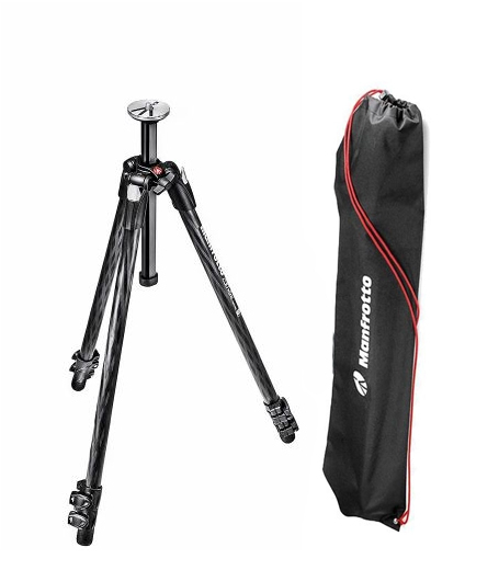 Manfrotto 290XTC3 trepied foto din carbon cu husa inclusa 0