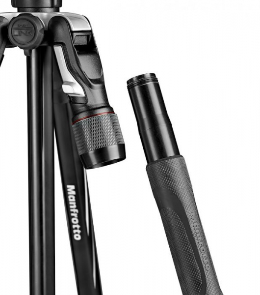 Manfrotto Befree 2N1 trepied foto cu transformare in monopied 1