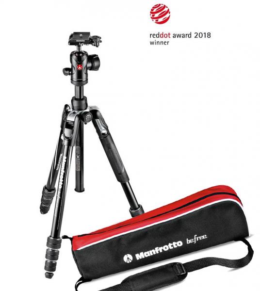 Manfrotto Befree Advanced Kit Trepied Foto Twist 0