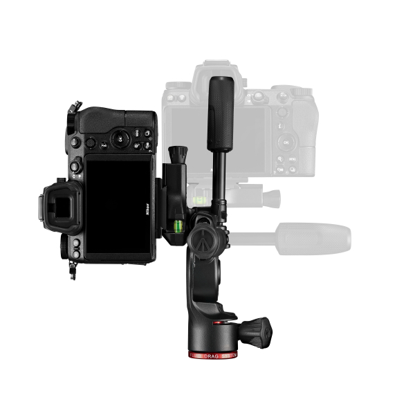 Manfrotto Befree Live 3Way Kit Trepied foto video fluid [11]