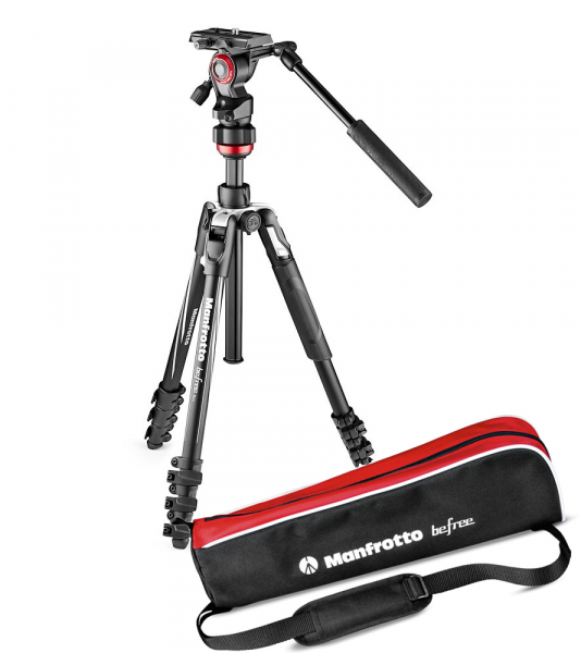 Manfrotto Befree Live Kit Trepied Video Lever 0