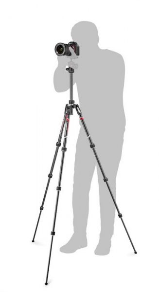 Manfrotto Befree Travel trepied din carbon 3