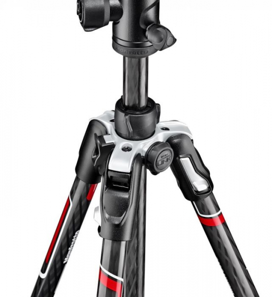 Manfrotto Befree Travel trepied din carbon 4