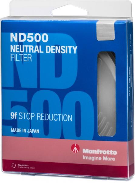 Manfrotto Filtru ND500 Slim 67mm 4