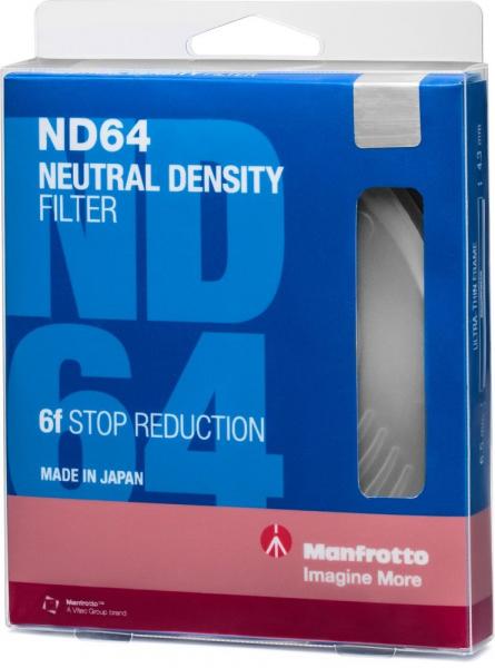 Manfrotto Filtru ND64 Slim 72mm [1]