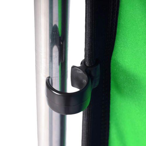 Lastolite Fundal Chroma Key verde Panoramic cu cadru inclus 4x2.90m 9