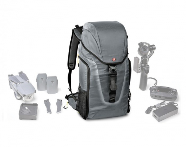 Pachet Sony Kit Aparat Foto Mirrorless Alpha A6400 24.2 MP cu Obiectiv 18-135mm +Manfrotto Rucsac Hover-25 1