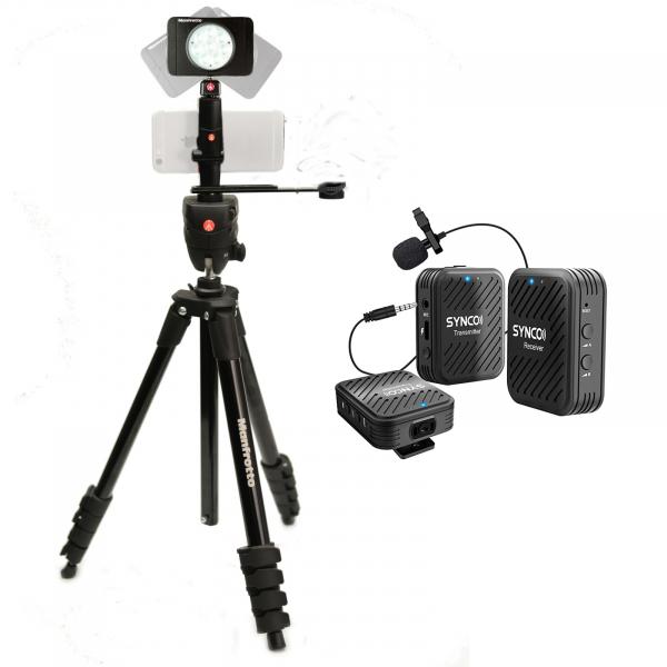 Manfrotto Kit pentru Fitness Vlog LED8 Wireless dubla 1