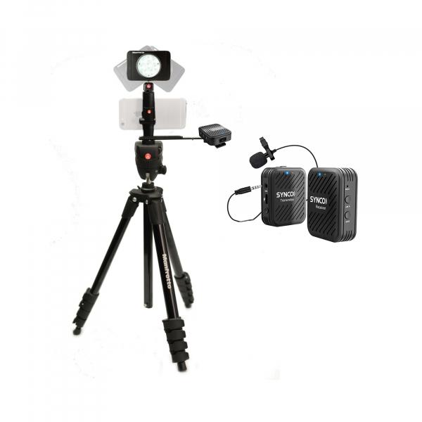 Manfrotto Kit pentru Fitness Vlog LED8 Wireless dubla 0