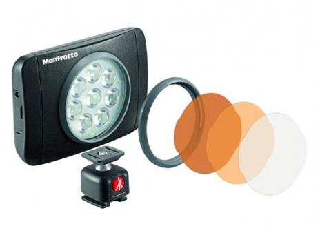Manfrotto Kit pentru Vlogger LED8 Minitrepied cu lavaliera 1