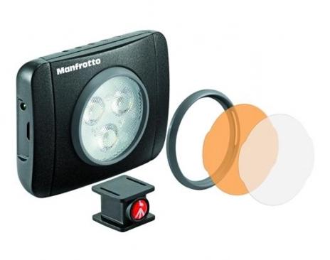 Manfrotto Kit pentru Vlogger LED3 Minitrepied cu lavaliera [1]