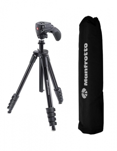 Manfrotto Kit pentru Vlogger LED3 Compact Action 3