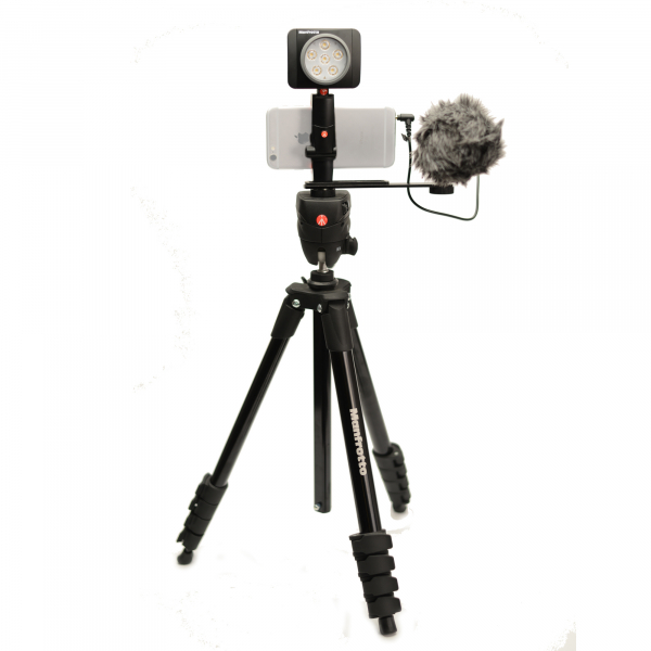 Manfrotto Kit pentru Vlogger LED6 Compact Action 1