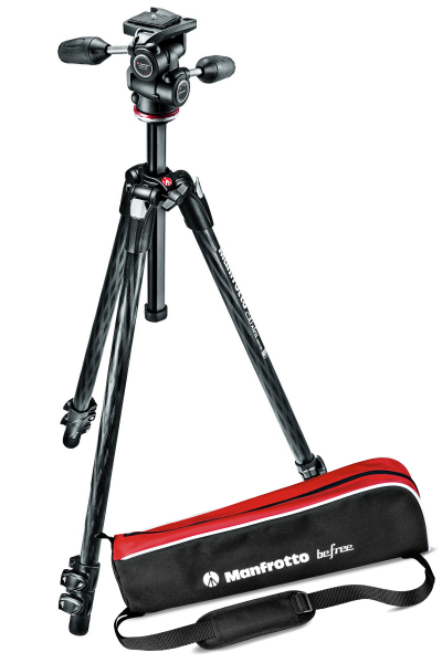 Manfrotto Kit Trepied 290 XTRA Carbon cu cap 3Wway 0