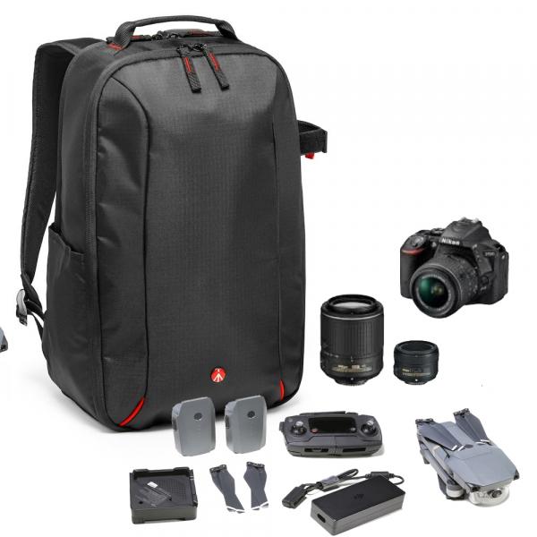 Manfrotto Essential rucsac pentru foto si drone DJI Mavic Pro 0