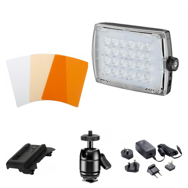 Manfrotto Micro Pro 24 Lampa Video LED 0