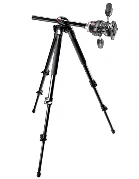 Manfrotto MK290DUA3-3W kit trepied foto cu cap 3Way 0