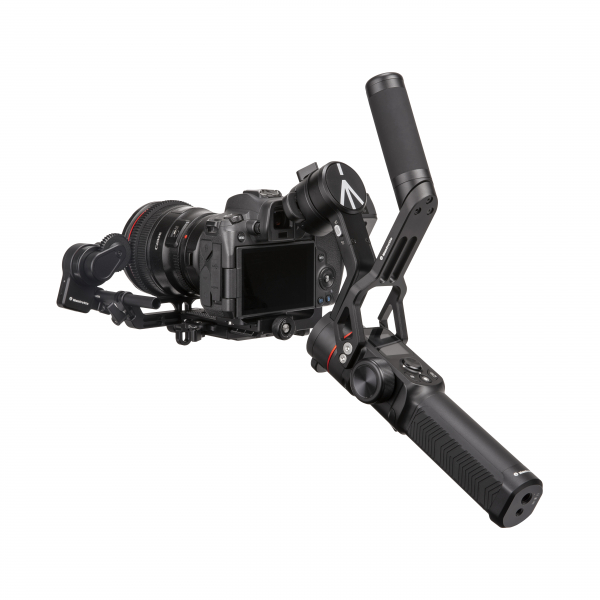 Manfrotto MVG220FF stabilizator gimbal in 3 axe cu Follow Focus capacitate 2.2kg 5