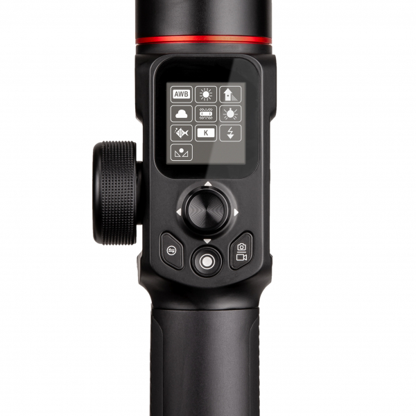 Manfrotto MVG220FF stabilizator gimbal in 3 axe cu Follow Focus capacitate 2.2kg 6