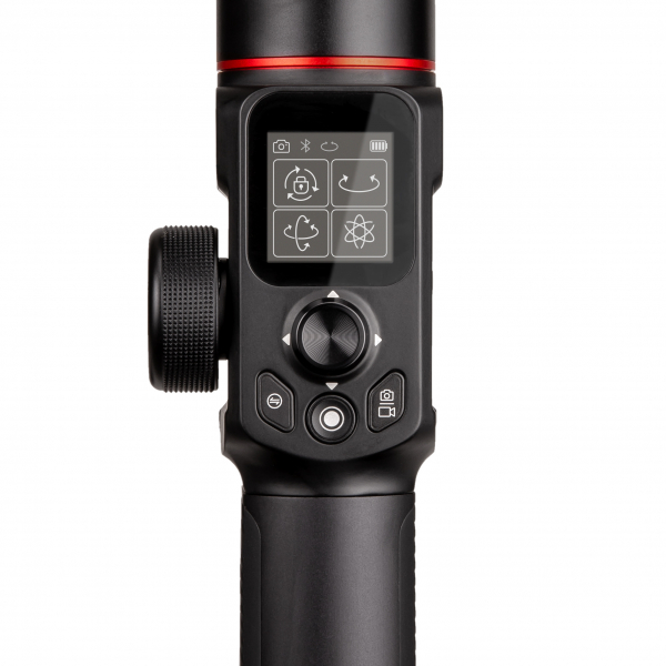 Manfrotto MVG220FF stabilizator gimbal in 3 axe cu Follow Focus capacitate 2.2kg 2