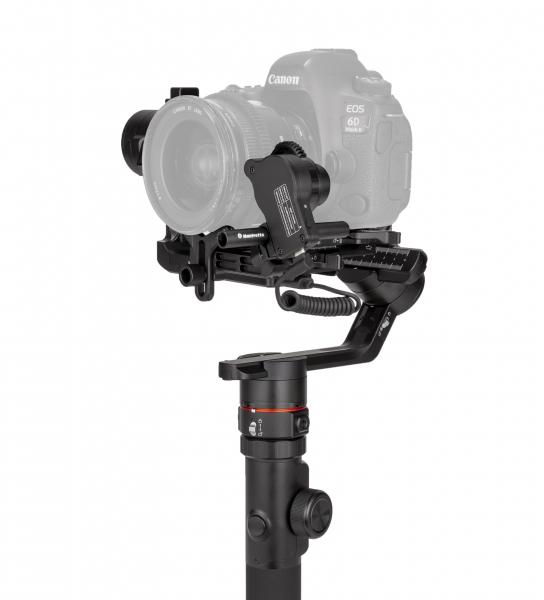 Manfrotto MVG460FFR stabilizator gimbal in 3 axe cu Follow Focus capacitate 4.6kg 7