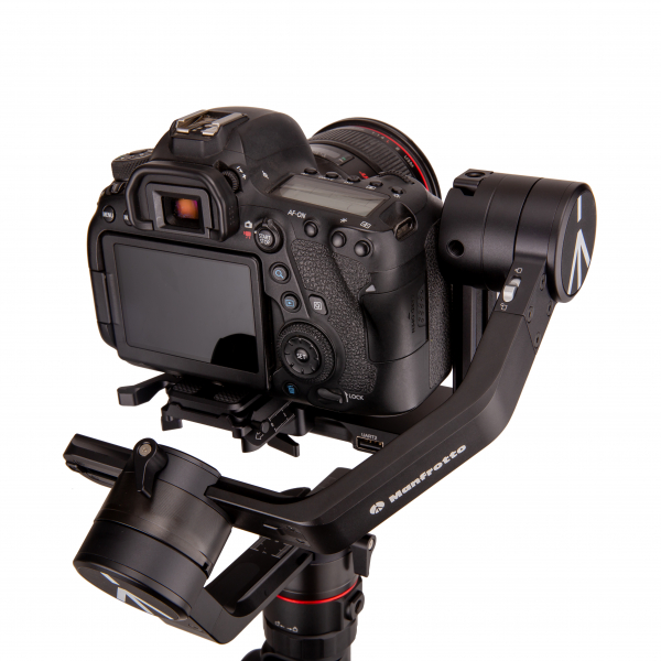 Manfrotto MVG460FFR stabilizator gimbal in 3 axe cu Follow Focus capacitate 4.6kg 3