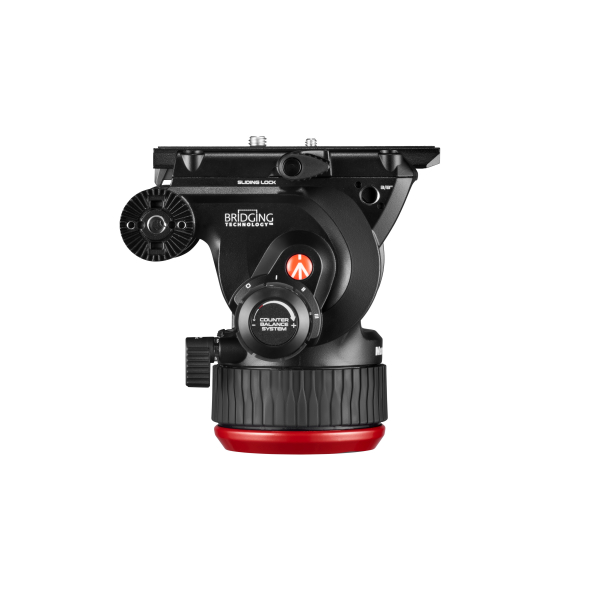 Manfrotto MVK504XTWINGC Kit Trepied video Carbon cu spreader de podea [8]