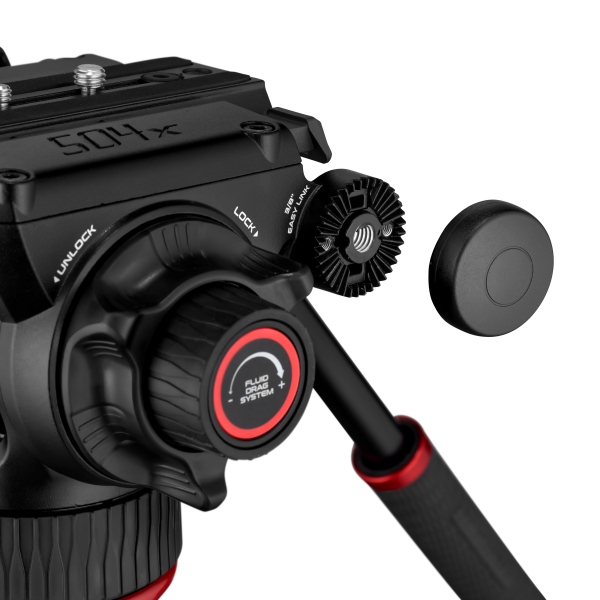 Manfrotto MVK504XTWINFA Kit Trepied video 504XFast 6