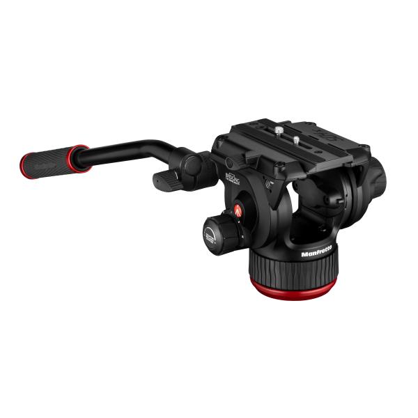 Manfrotto MVK504XTWINMC Kit Trepied video Carbon cu spreader de mijloc [5]