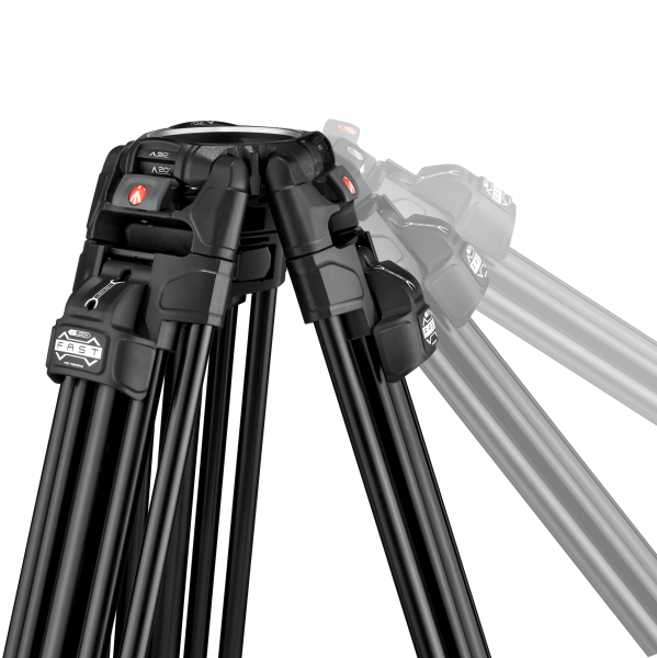 Manfrotto MVK504XTWINFA Kit Trepied video 504XFast 3