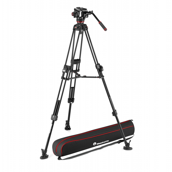 Manfrotto MVK504XTWINFA Kit Trepied video 504XFast 0