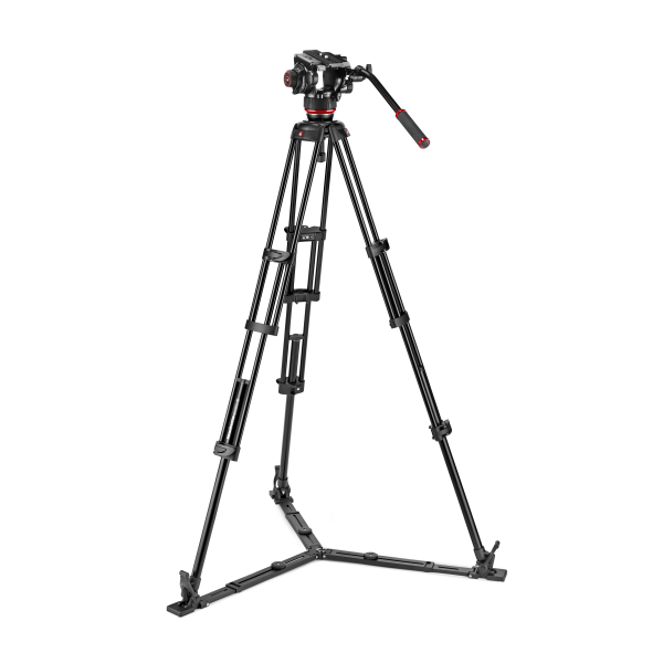 Manfrotto MVK504XTWINGA Kit Trepied video cu spreader de podea 9