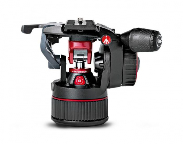 Manfrotto MVKN8C Nitrotech 8 kit trepied video carbon 3