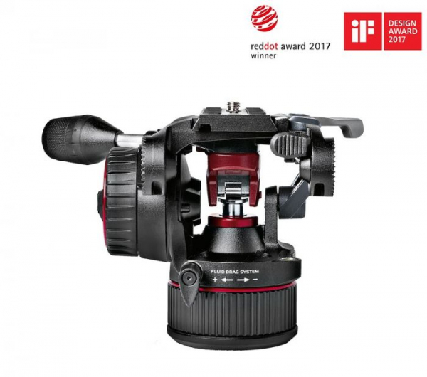 Manfrotto MVKN8TWINM Nitrotech N8 kit trepied video carbon 2