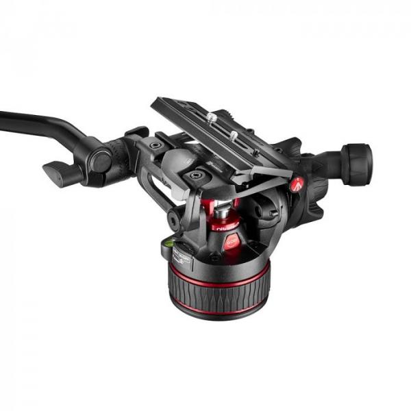 Manfrotto Nitrotech 608/645 Fast kit trepied video cu eliberare rapida 15