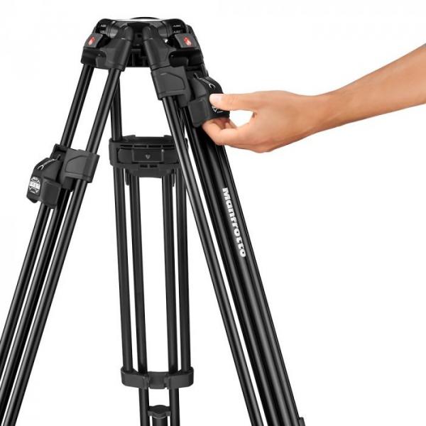 Manfrotto Nitrotech 608/645 Fast kit trepied video cu eliberare rapida 7